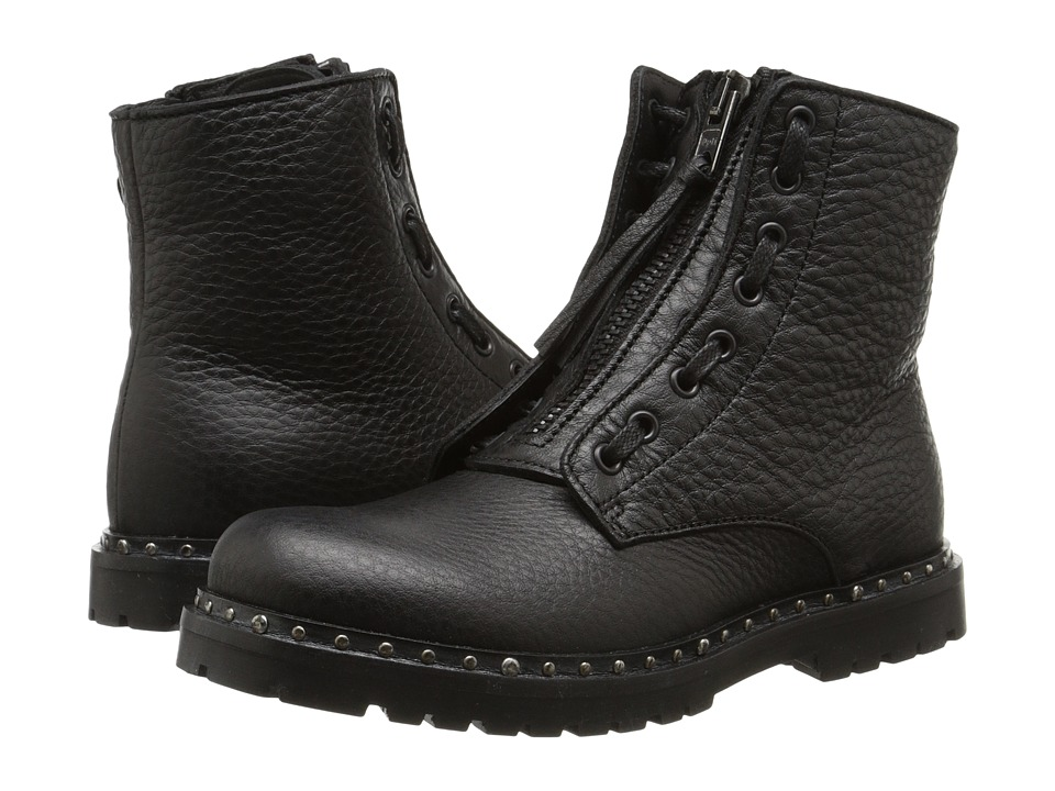 Dolce & Gabbana - Lace Up Boot (Little Kid) (Black) Men
