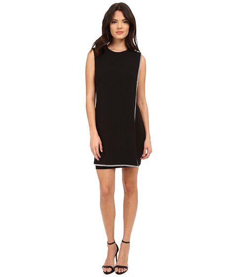 Ted Baker - Burford Double Layer Embellished Tunic (Black) Women