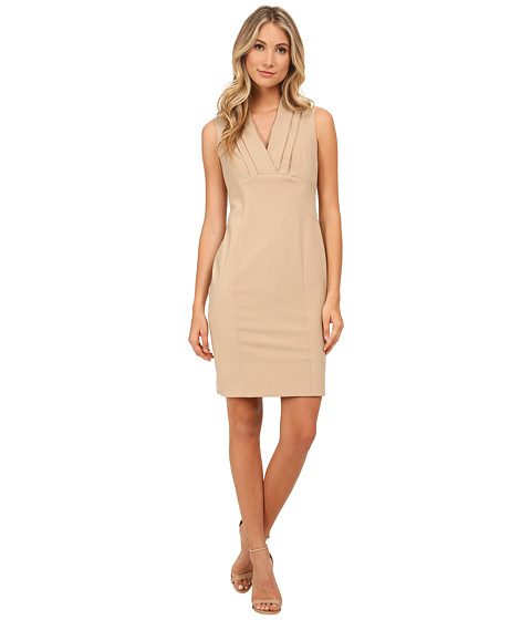 Jones New York - Cap Sleeve Fitted Dress (Chino) Women