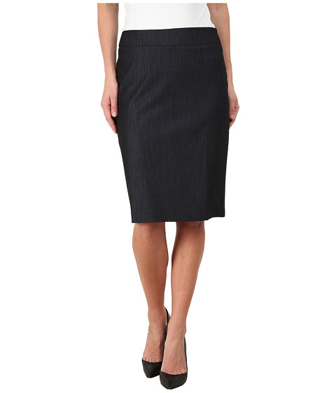 Jones New York - Lucy Straight Pencil Skirt (Navy) Women's Skirt