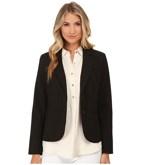 Jones New York - Olivia Soild Two-Button Jacket (J Black) Women