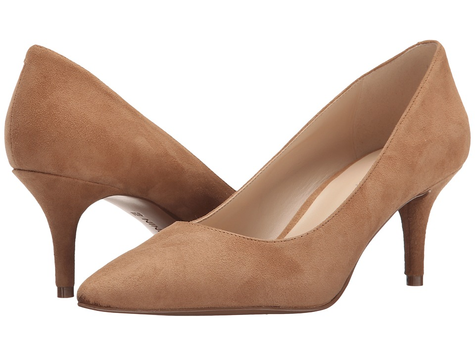 Nine West - Margot (Natural Suede) High Heels
