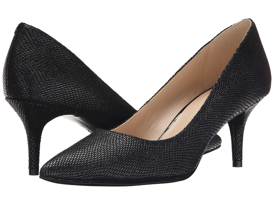 Nine West - Margot (Black Reptile) High Heels
