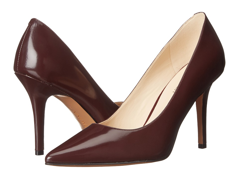 Nine West - Jackpot (Wine Leather) High Heels