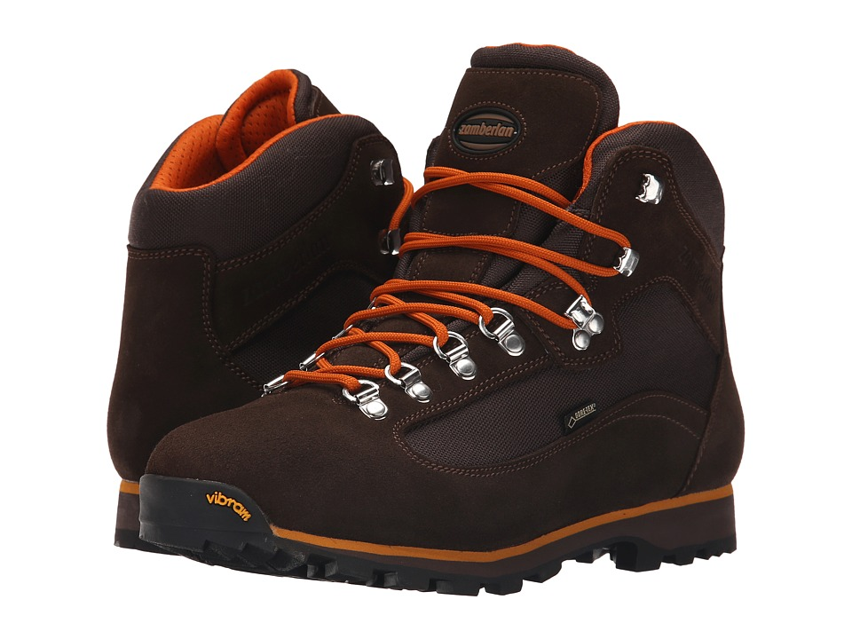 Zamberlan - Trailblazer GTX (Brown/Orange) Men's Shoes