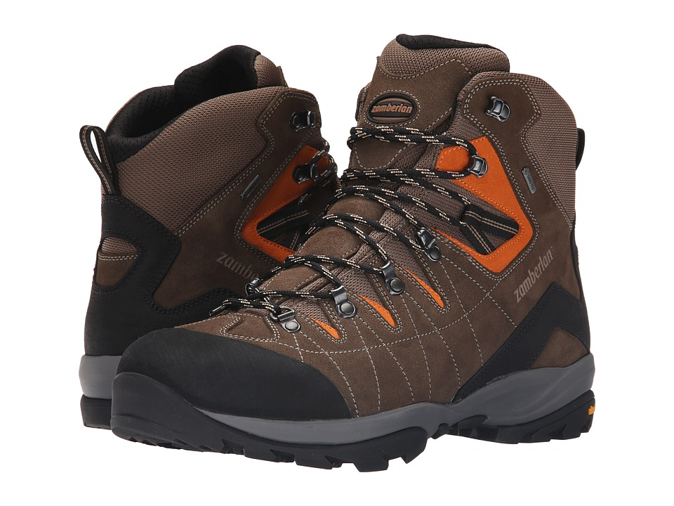 Zamberlan - Torrent GTX RR (Brown/Orange) Men's Shoes