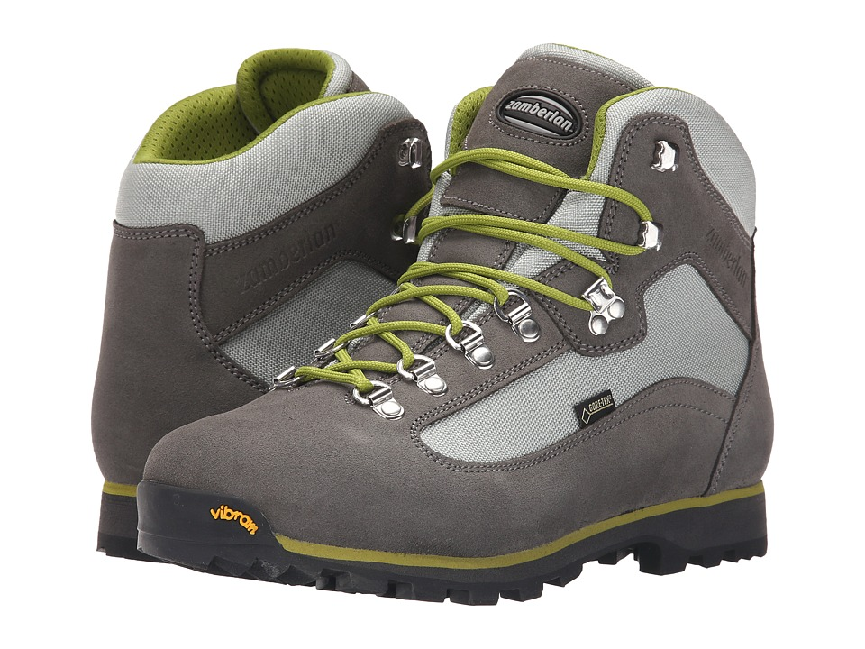 Zamberlan - Trailblazer GTX (Light Grey/Acid Green) Women's Shoes