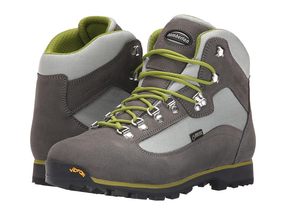 Zamberlan - Trailblazer GTX (Light Grey/Acid Green) Women's Shoes