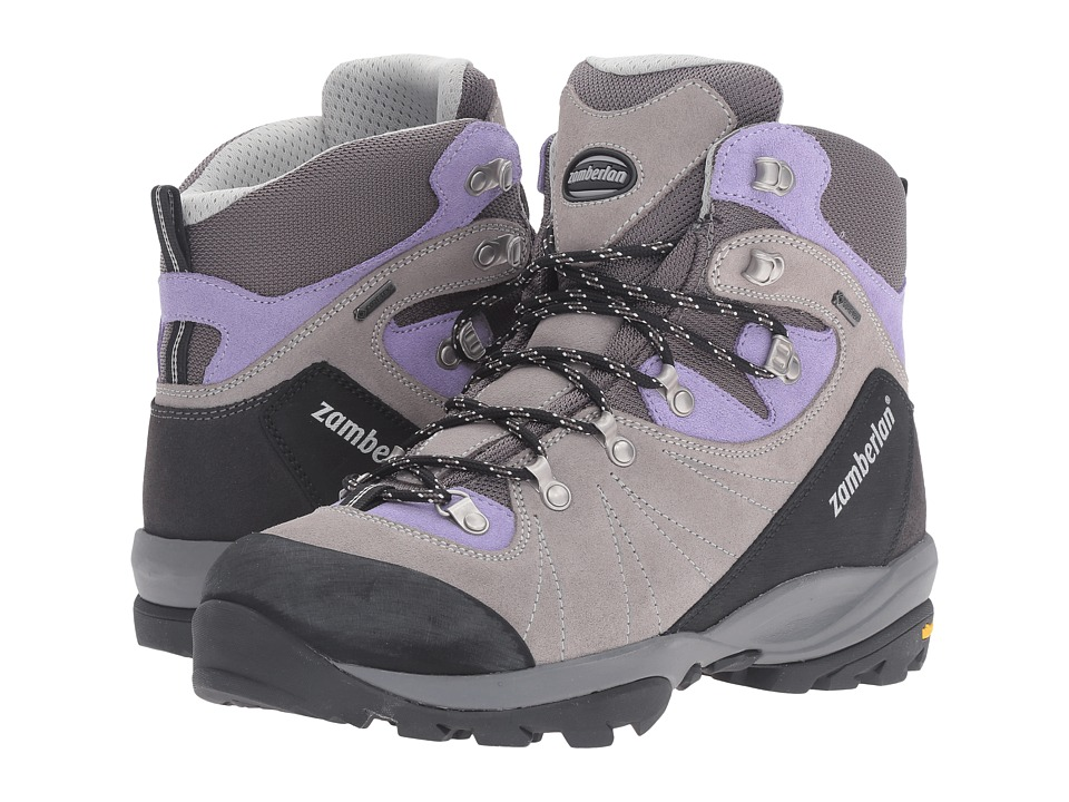 Zamberlan - 568 Bora GTX RR (Grey/Violet) Women's Shoes