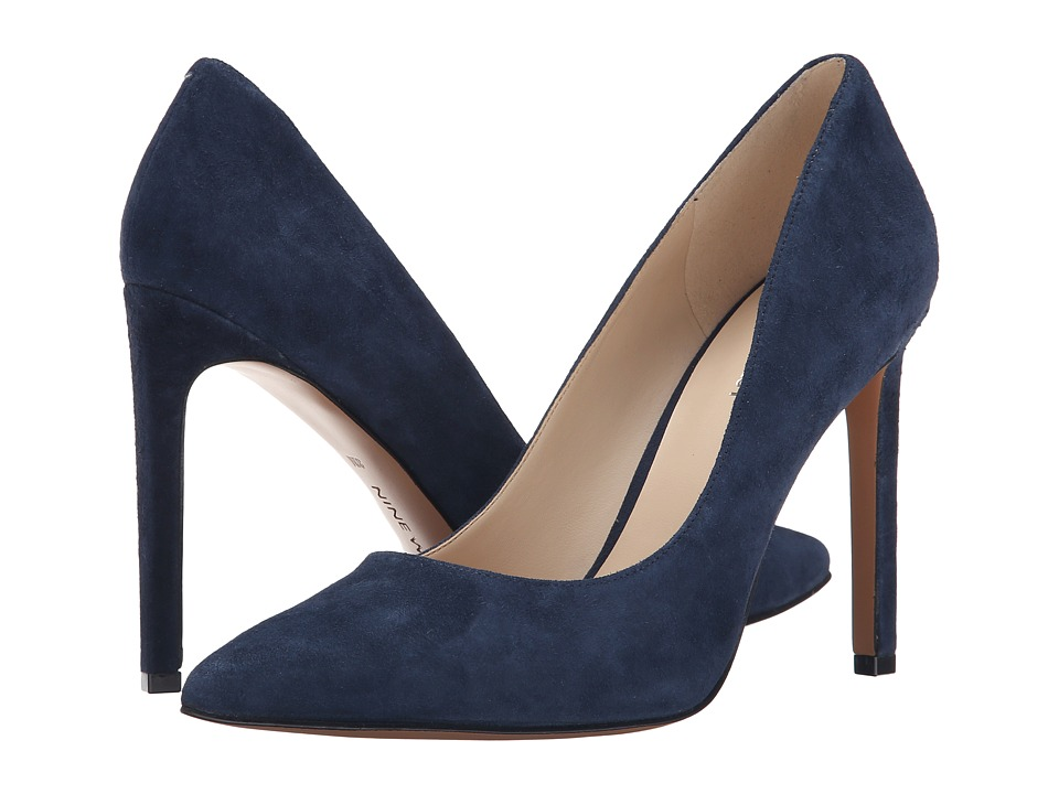 Nine West - Tatiana (Navy Suede) High Heels