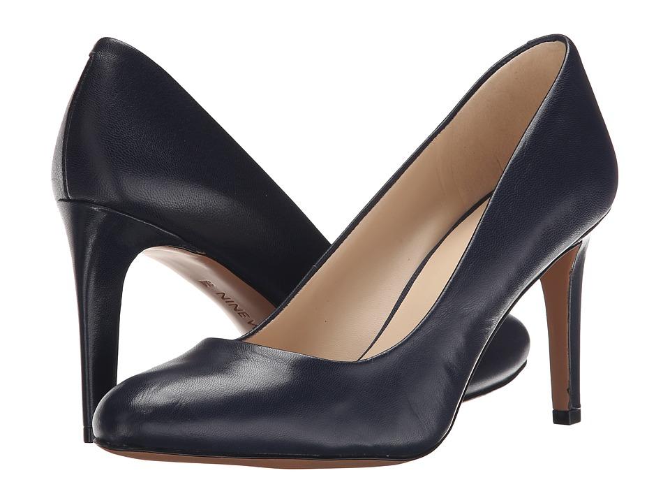 Nine West - Handjive (Navy Leather) High Heels