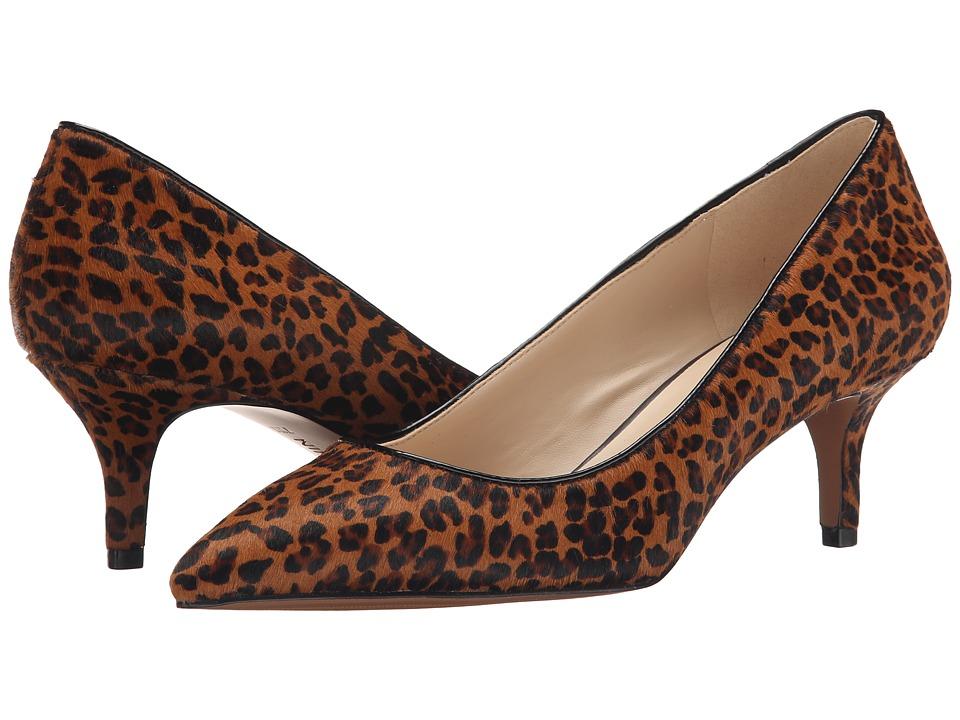 Nine West - Xeena (Dark Natural/Black Pony) Women's 1-2 inch heel Shoes