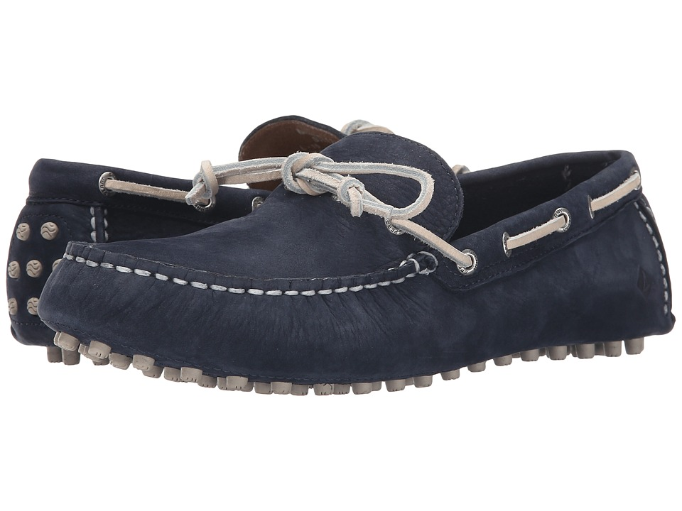 Sperry Top-Sider - Hamilton Driver 1-Eye Washable (Navy) Men's Slip on Shoes