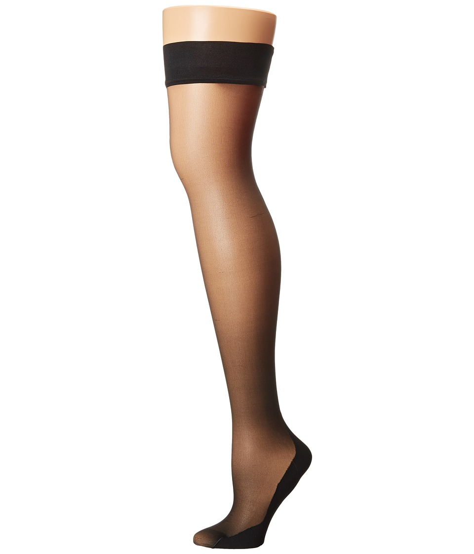 Falke - High Heel Stay Up Tights (Black) Hose