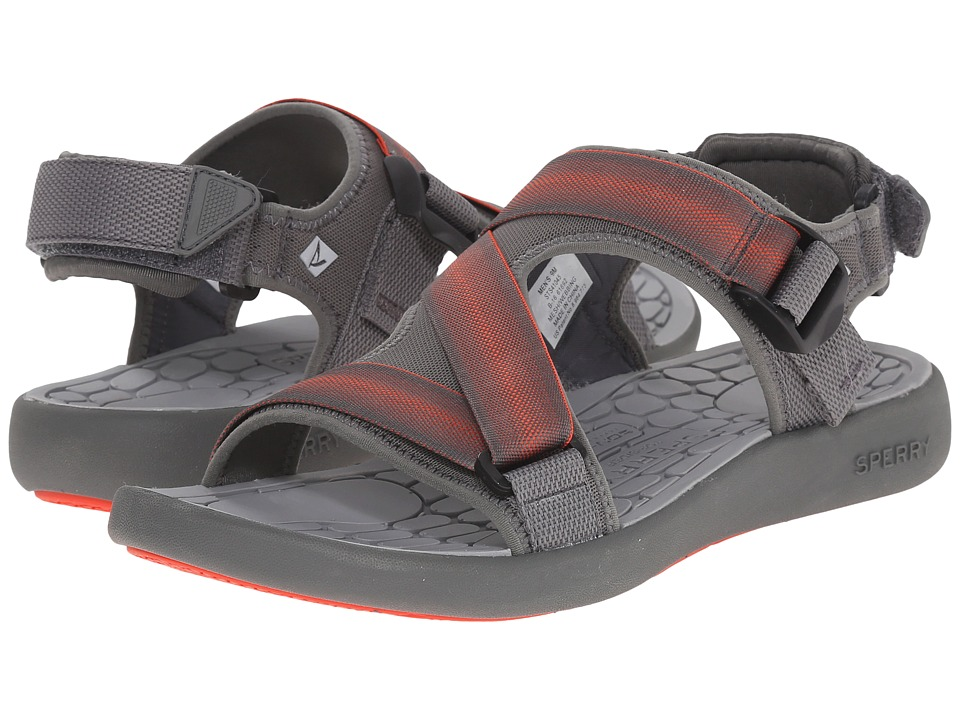 Sperry - Big Eddy River Sandal (Grey) Men's Sandals