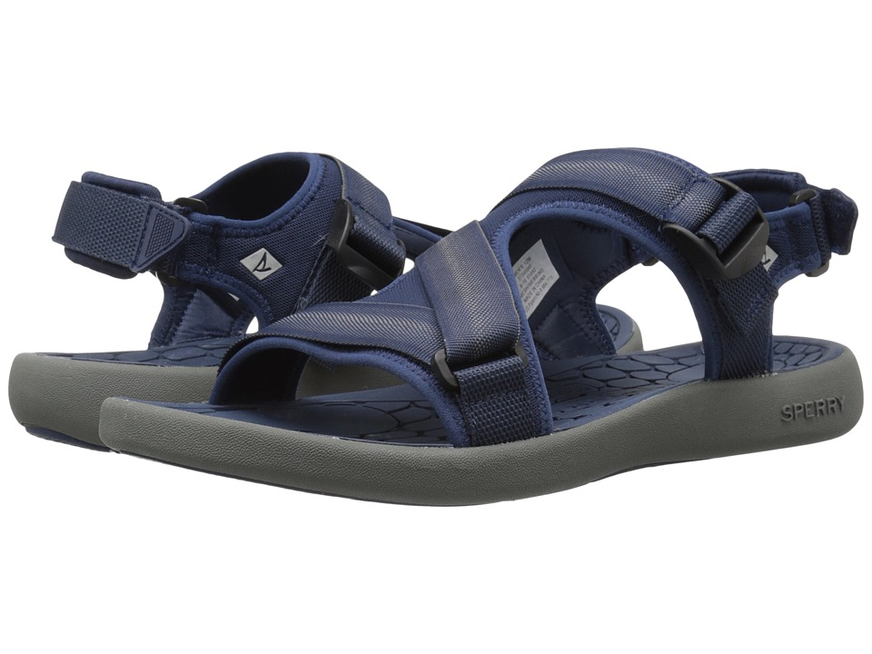 Sperry - Big Eddy River Sandal (Navy) Men's Sandals
