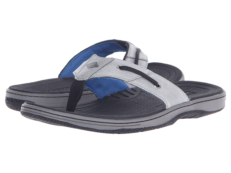 Sperry Top-Sider Baitfish Thong (Grey/Black) Men