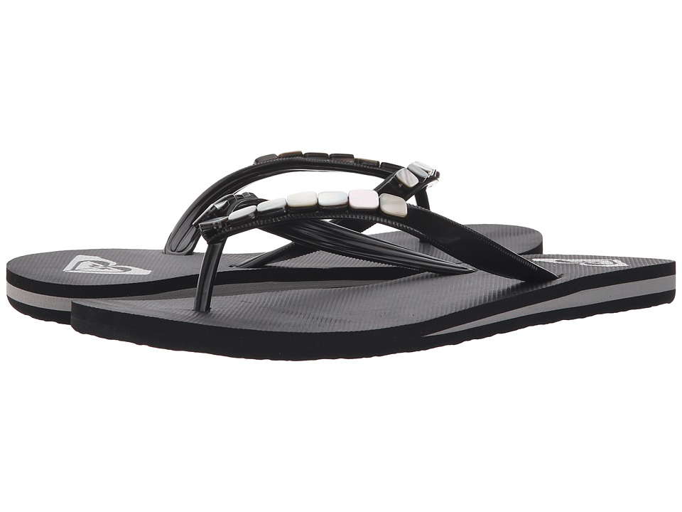 Roxy - Bermuda Shells (Black) Women's Sandals