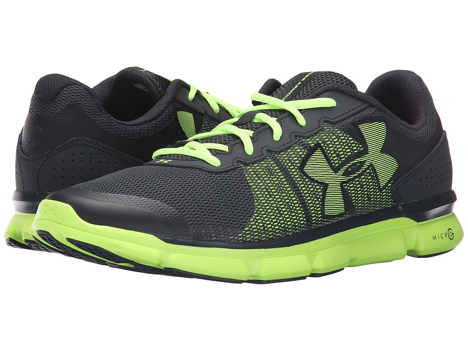 Under Armour - UA Micro G(r) Speed Swift (Anthracite/Fuel Green/Fuel Green) Men's Running Shoes