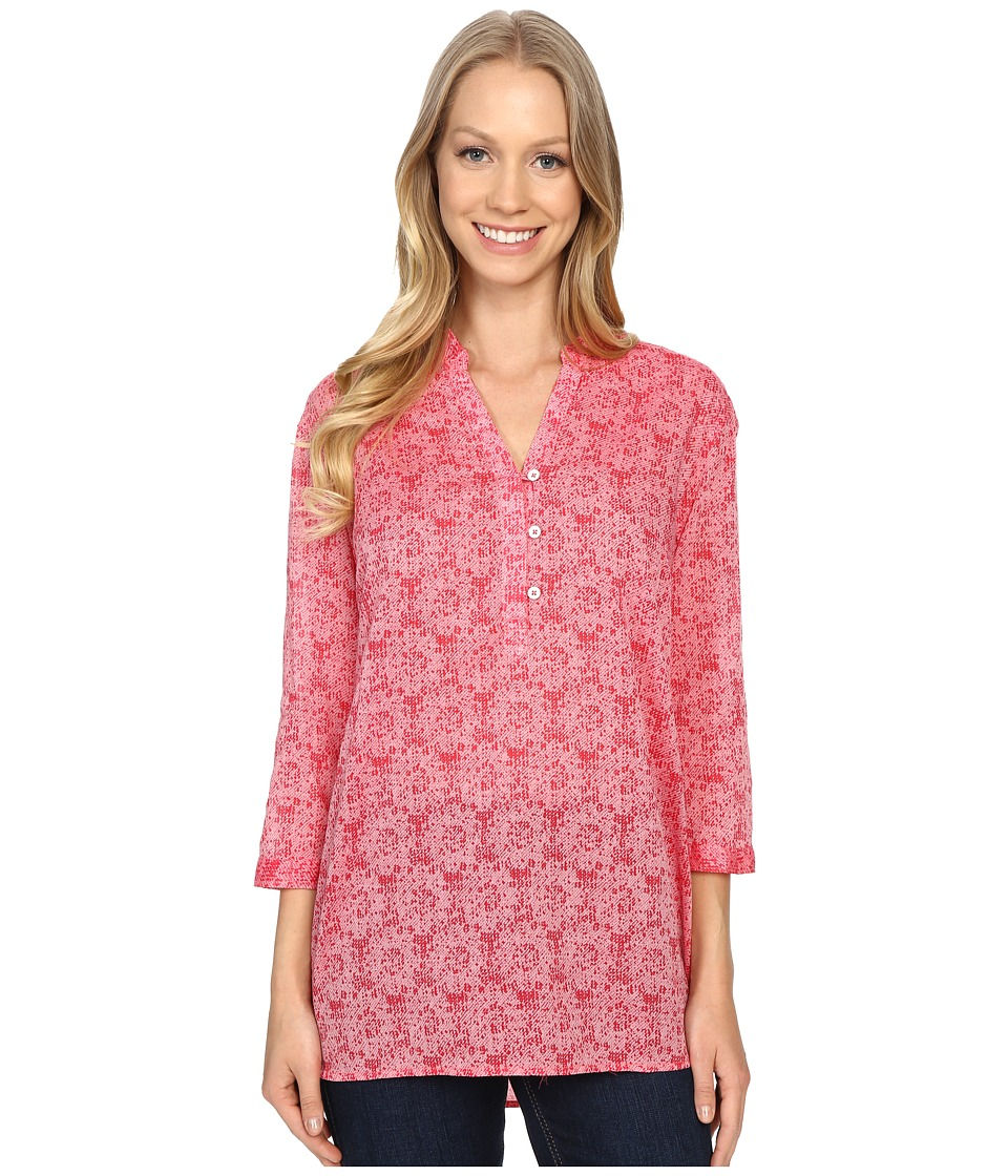Columbia - Early Tide Tunic (Coral Bloom Floral Print) Women's Clothing