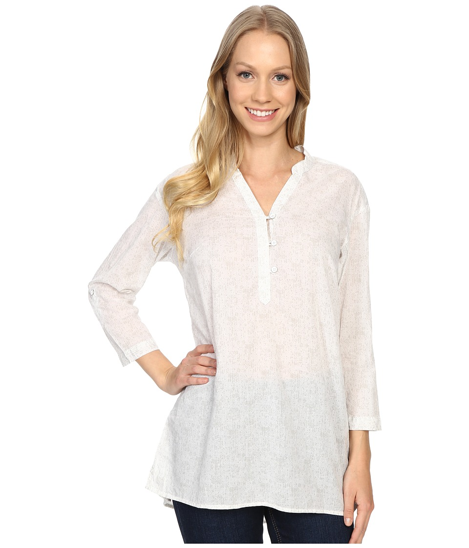 Columbia - Early Tide Tunic (White Floral Print) Women's Clothing