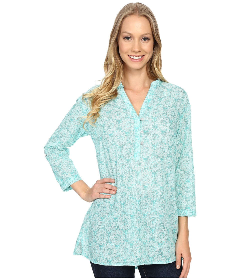 Columbia - Early Tide Tunic (Miami Floral Print) Women's Clothing