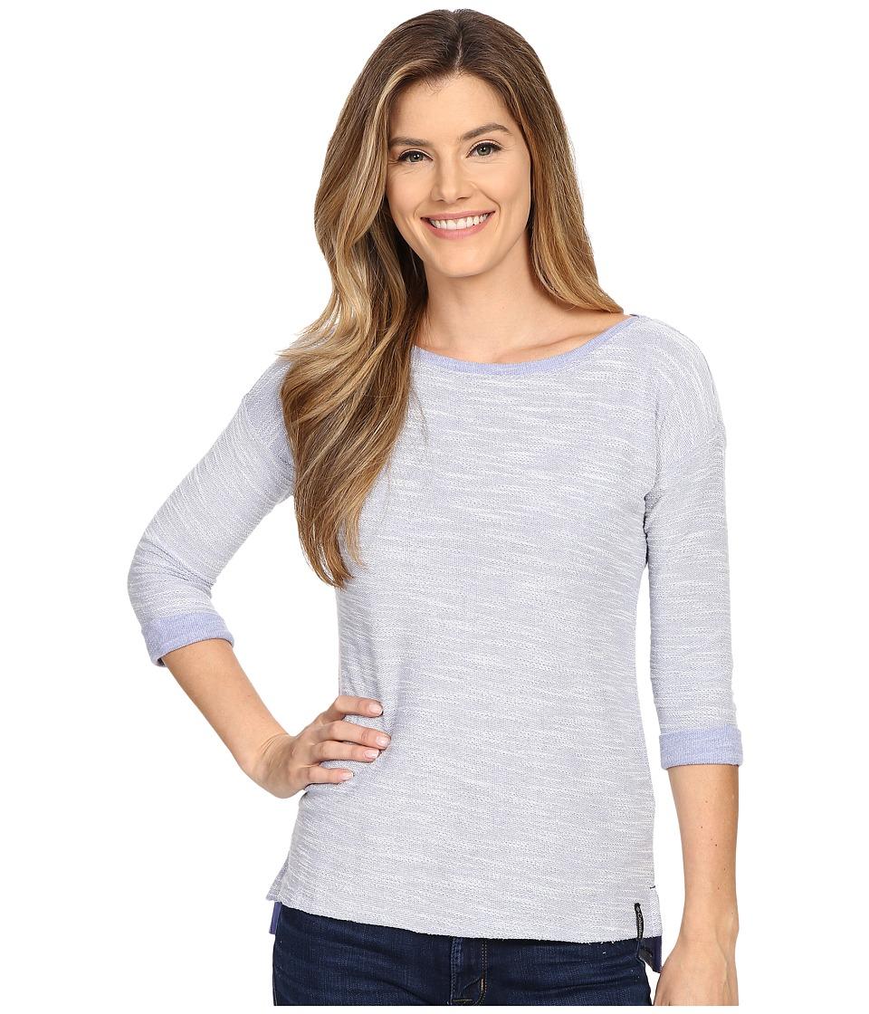 Columbia - Coastal Escape 3/4 Sleeve Shirt (Pale Purple Heather) Women's Long Sleeve Pullover