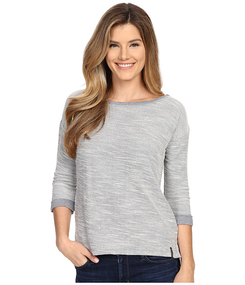 Columbia - Coastal Escape 3/4 Sleeve Shirt (Nocturnal Heather) Women's Long Sleeve Pullover
