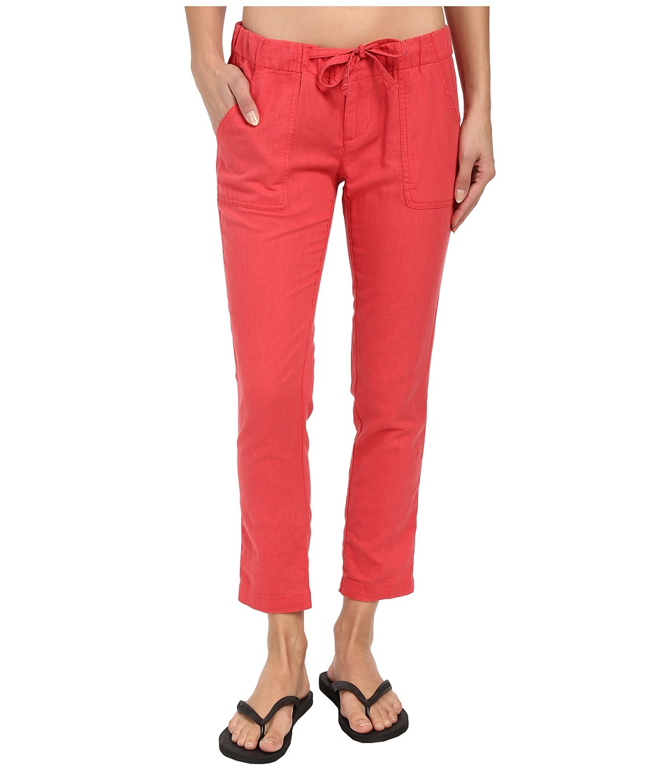 Columbia - Coastal Escape Capri Pants (Sunset Red) Women's Capri