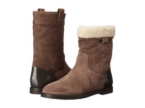 Furla - Melany Ankle Boot (Daino/Mist) Women's Pull-on Boots