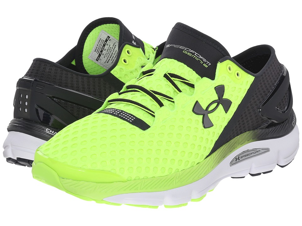 Under Armour - UA Speedformtm Gemini 2 (Fuel Green/White/Black) Men's Running Shoes