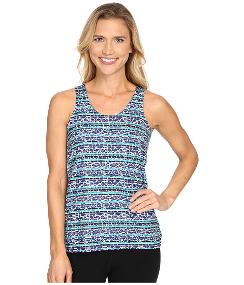 Columbia - Siren Splash Print Tank Top (Skyward Floral Stripe) Women