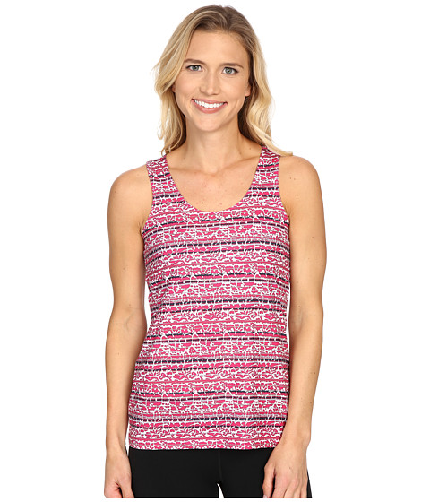 Columbia - Siren Splash Print Tank Top (Haute Pink Floral Stripe) Women
