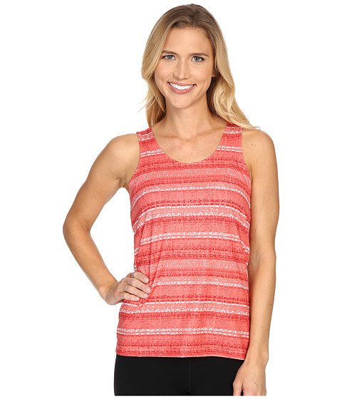 Columbia - Siren Splash Print Tank Top (Coral Bloom Stripe Print) Women's Sleeveless