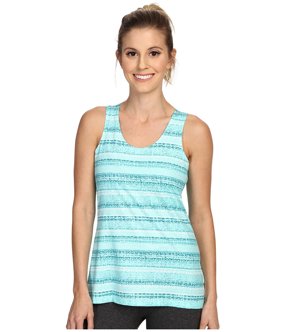 Columbia - Siren Splash Print Tank Top (Ocean Water Stripe Print) Women's Sleeveless
