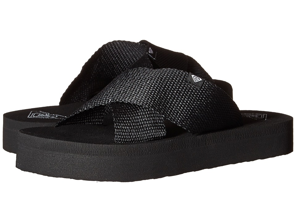 Roxy - Cayman (Black) Women's Sandals