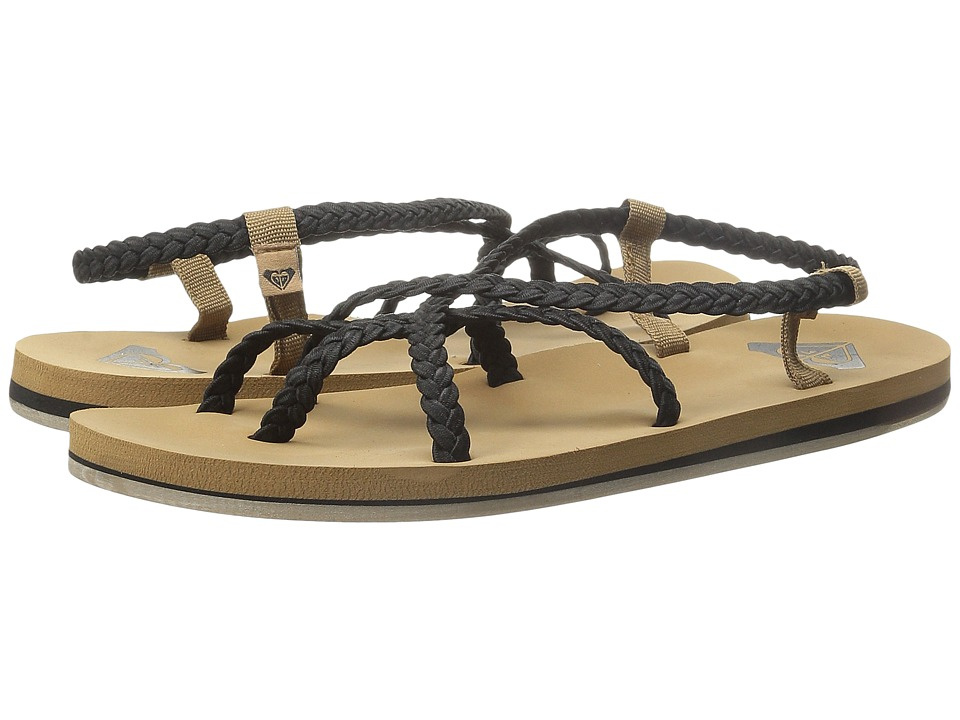 Roxy - Gillis (Black) Women's Sandals