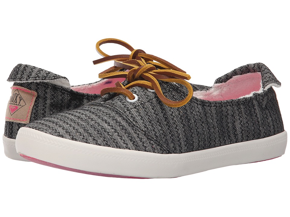 Roxy - Kayak (Black) Women's Slip on Shoes