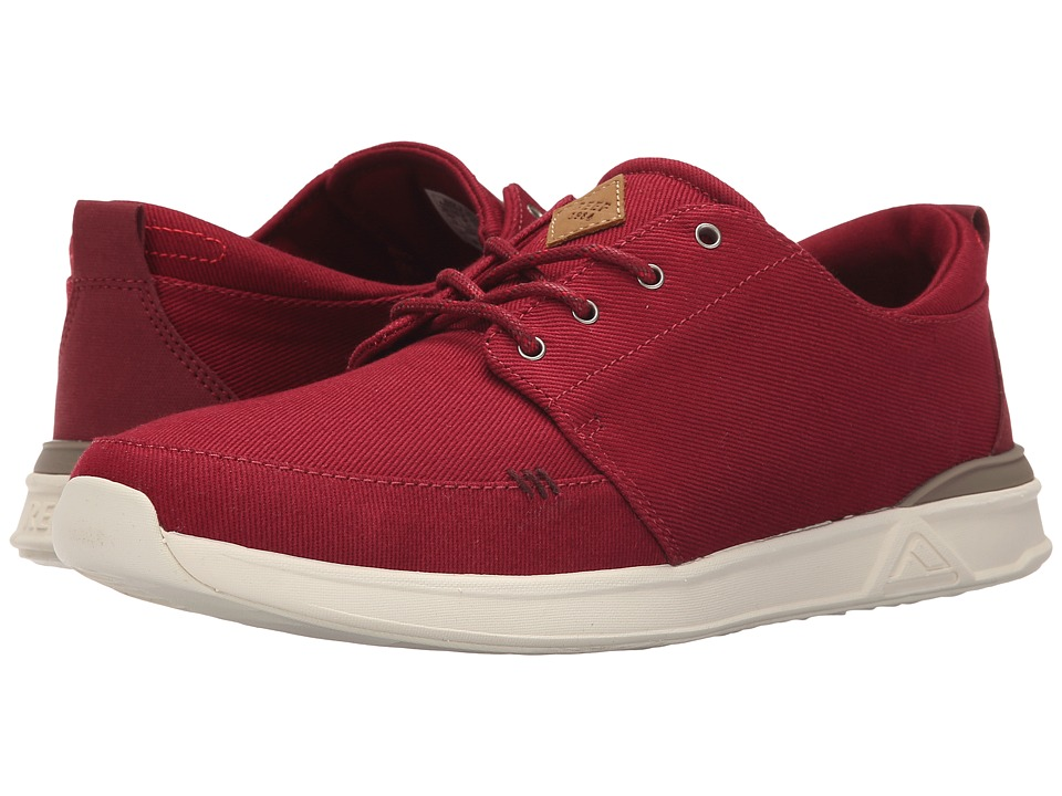 Reef - Rover Low (Red) Men's Lace up casual Shoes