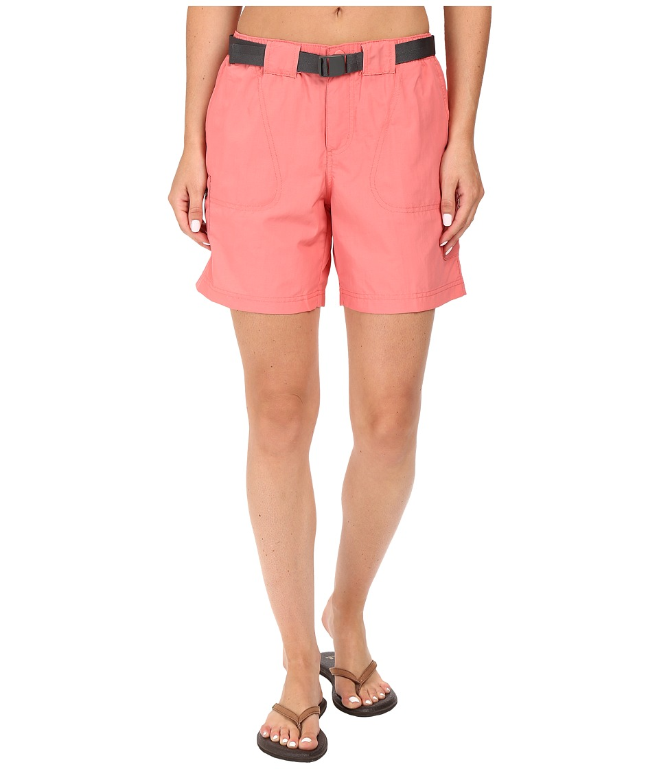 Columbia - Sandy River Cargo Short (Coral Bloom, Grill) Women's Shorts