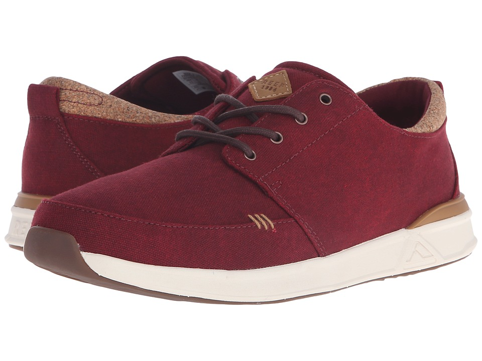 Reef - Rover Low TX (Red) Men's Shoes