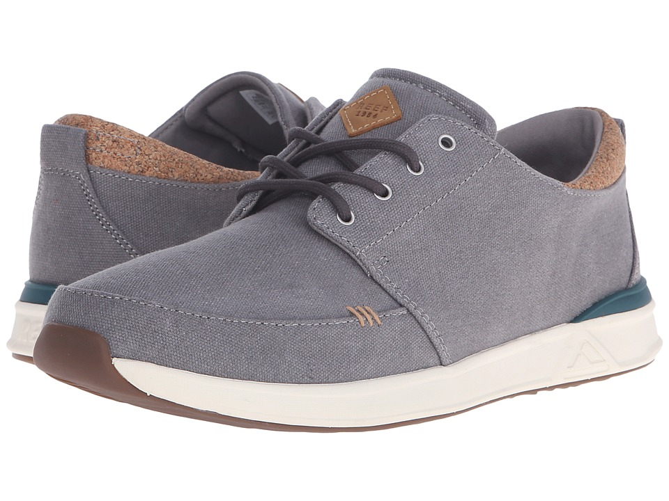 Reef - Rover Low TX (Grey) Men's Shoes