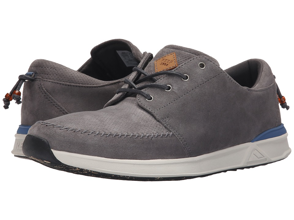 Reef - Rover Low Fashion (Grey) Men's Lace up casual Shoes
