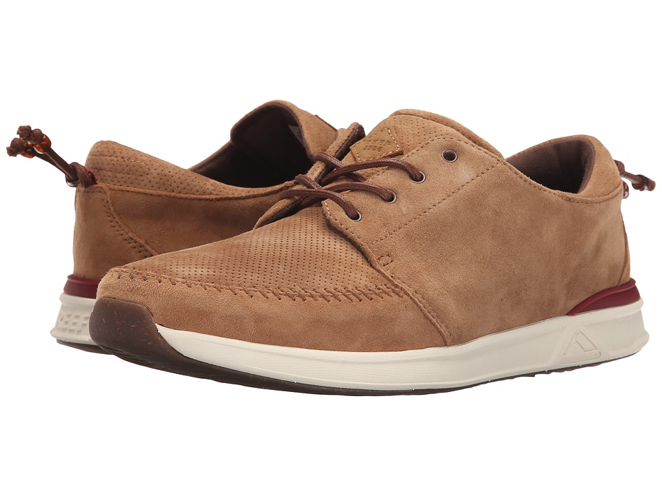 Reef - Rover Low Fashion (Tan) Men's Lace up casual Shoes