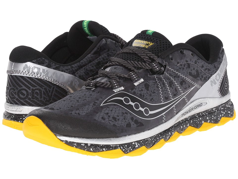 Saucony - Nomad TR (Grey/Black/Gold) Men's Running Shoes