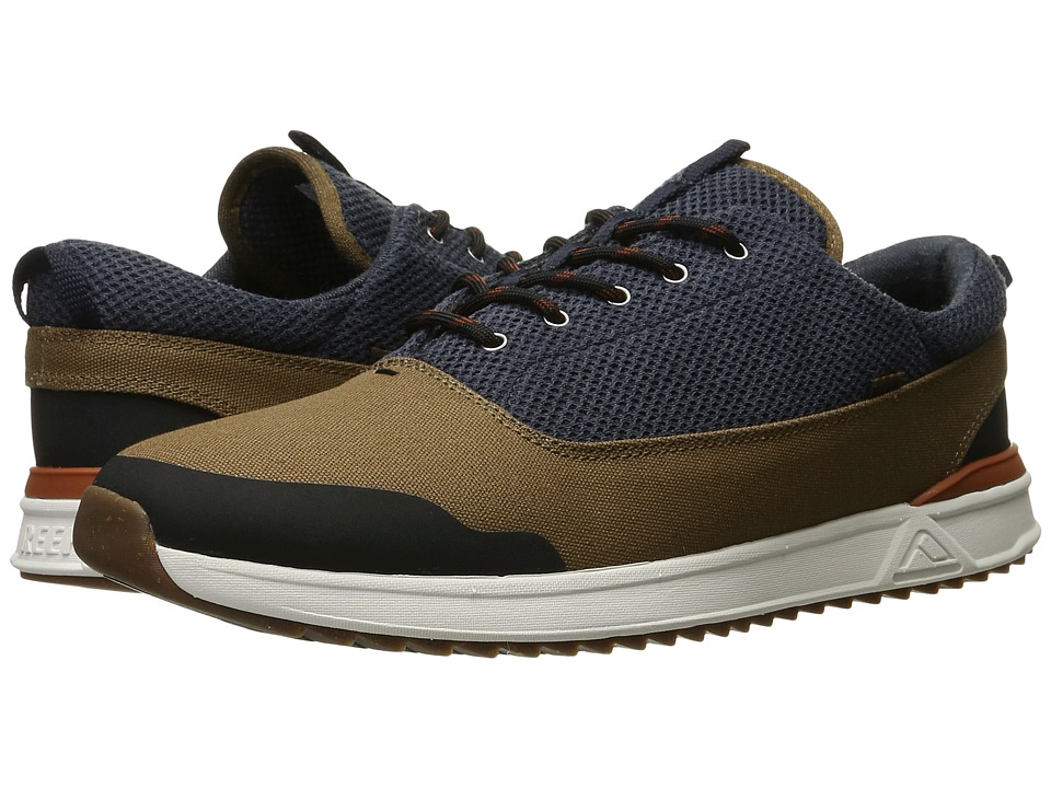 Reef - Rover Low XT (Navy/Brown) Men