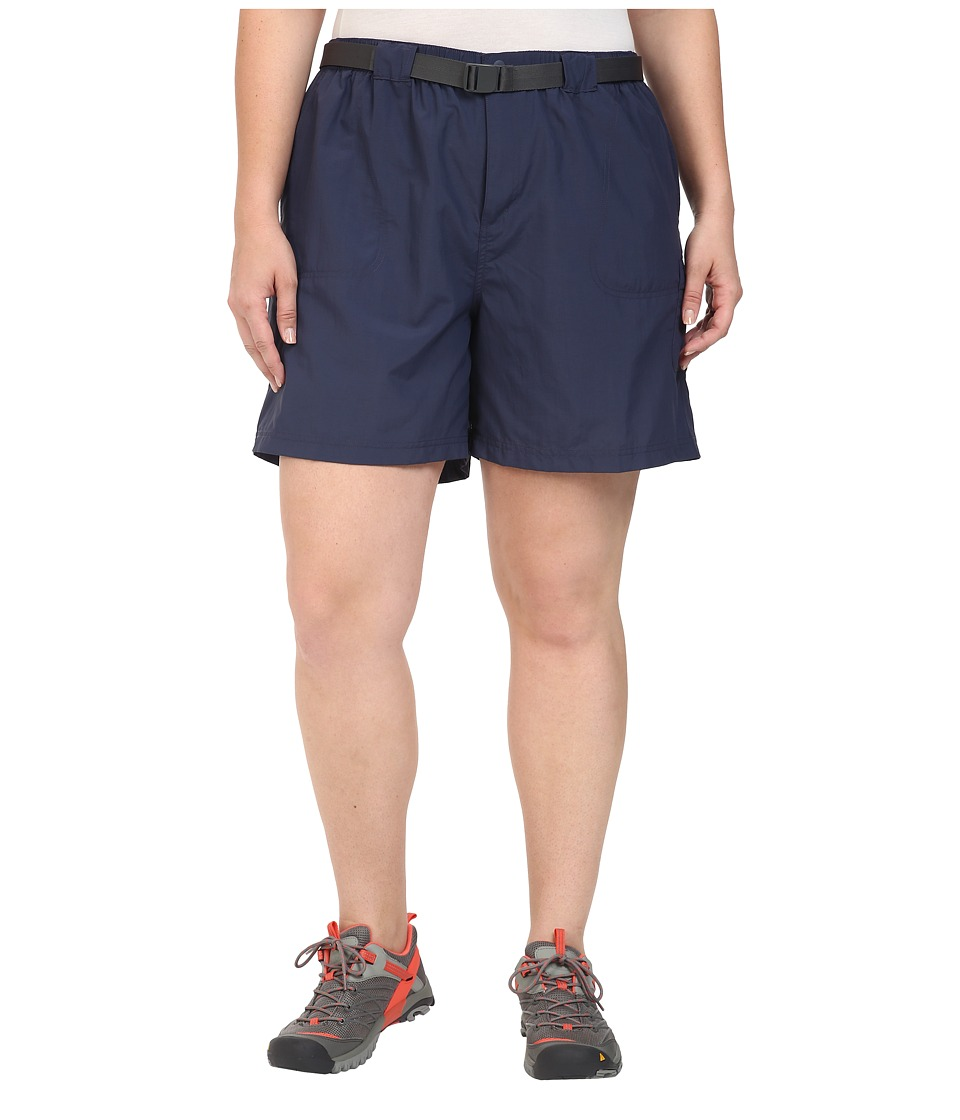 Columbia - Plus Size Sandy River Cargo Short (Nocturnal/Grill) Women's Clothing