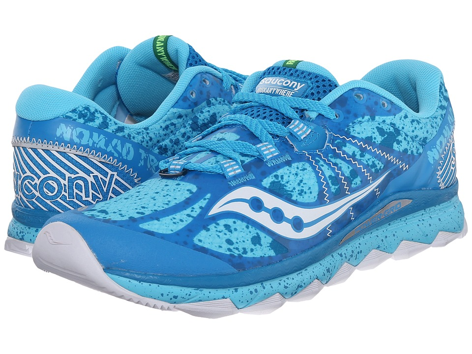 Saucony - Nomad TR (Blue/White) Women's Running Shoes