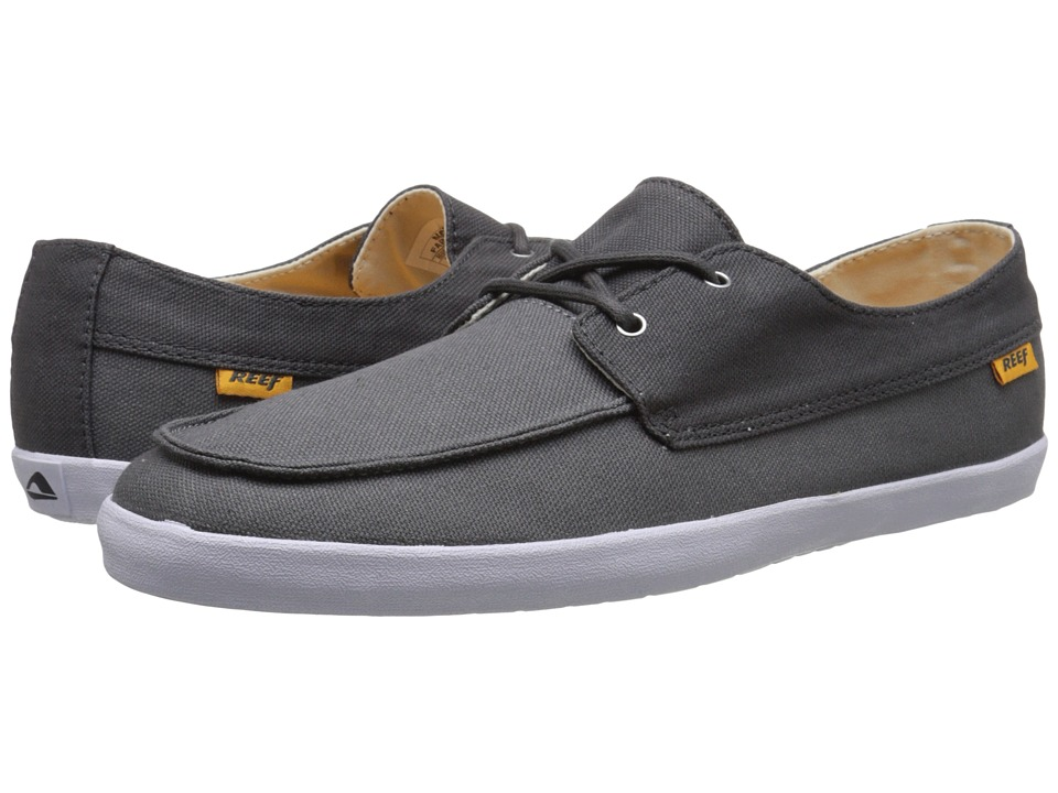 Reef - Deckhand Low (Charcoal Grey) Men's Shoes