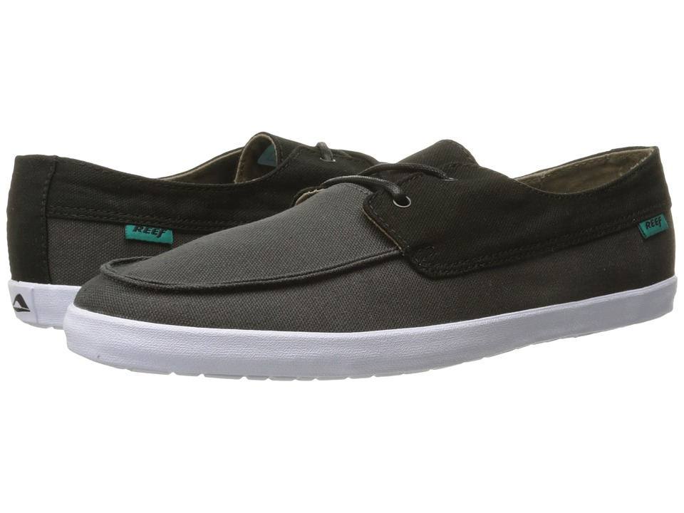 Reef - Deckhand Low (Black/Charcoal) Men's Shoes